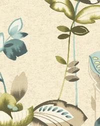 Whimsical Garden 16 Cream Wallpaper WT4544 by