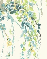 Lovebirds 12 Aqua Lime Wallpaper WT4559 by