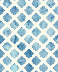 Artisan Tile 2 Blue Wallpaper WT4580 by