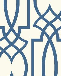 Large Lattice 12 Cobalt Wallpaper WT4606 by
