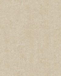 Elemental Stripe Wallpaper beige  on soft metallic gold by