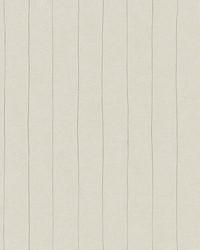 Elemental Stripe Wallpaper cream  metallic silver by