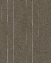 Elemental Stripe Wallpaper dark brown  bright metallic gold by