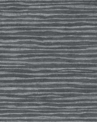 Terra Nova Wallpaper black  metallic pewter by