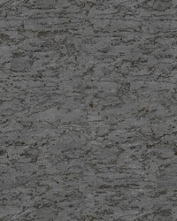 Cork Wallpaper medium grey  dark grey  metallic gold by