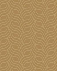 Interlocking Geo Wallpaper gold  metallic gold by