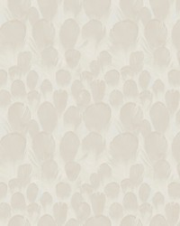 Feathers Wallpaper Cream by