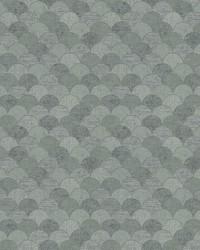 Mermaid Scales Wallpaper Grey Silver by