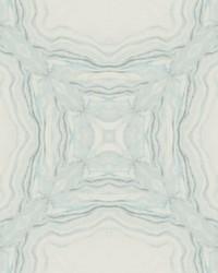 Stone Kaleidoscope Wallpaper Blue by
