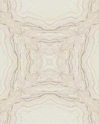 Stone Kaleidoscope Wallpaper Soft Pink by