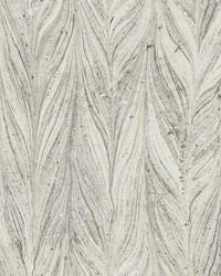 Ebru Marble Wallpaper Cool Grey by