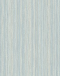 Soft Cascade Wallpaper Blue Silver by