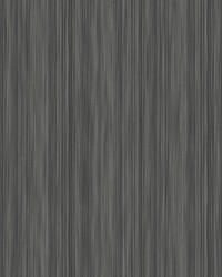 Soft Cascade Wallpaper Black Silver by