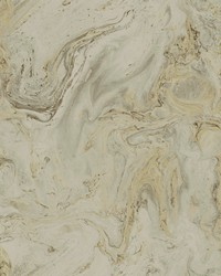 Oil Marble Wallpaper Mink Gold by
