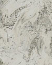 Oil Marble Wallpaper Grey Glint by