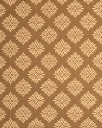 Floral Diamond Fabric  Menara Camel