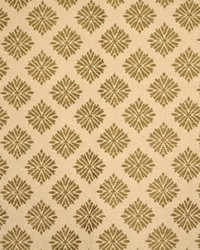 Brown Floral Diamond Fabric  Menara Taupe