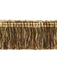 0267L BRUSH FRINGE S0037 GOLDEN HAZE by  Stroheim And Romann Trim