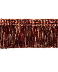 0267L BRUSH FRINGE S0340 CINNABAR by  Stroheim And Romann Trim