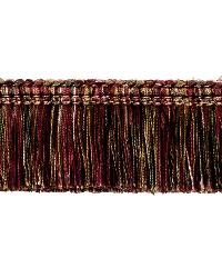 0267L BRUSH FRINGE S0350 PERSIAN RED by  Stroheim And Romann Trim