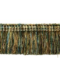 0267L BRUSH FRINGE S0750 PEACOCK by  Stroheim And Romann Trim