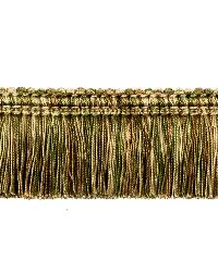 0267L BRUSH FRINGE S0762 MOSS by  Stroheim And Romann Trim