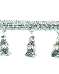 0369L BELL FRINGE S0514 ROBINS EGG by  Stroheim And Romann Trim