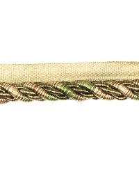 0438l Large Cord Wit S0762 Moss by  Stroheim And Romann Trim
