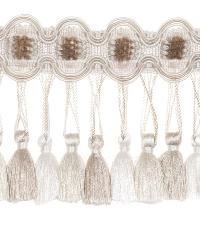 0621l Tassel Fringe S0040 Ecru by  Stroheim And Romann Trim