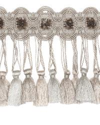 0621l Tassel Fringe S0045 Oyster by  Stroheim And Romann Trim