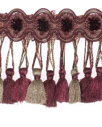 0621l Tassel Fringe S0350 Persian Red by  Stroheim And Romann Trim