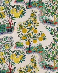 Fruit Fabric  Citrus Garden Primary