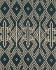 Schumacher Fabric ASAKA IKAT CHARCOAL