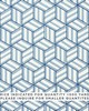 Schumacher Fabric TUMBLING BLOCKS CONTRACT BLUE