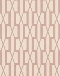 Belvedere Pink by  Schumacher Wallpaper