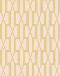 Belvedere Straw by  Schumacher Wallpaper