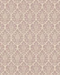 Burley Lilac by  Schumacher Wallpaper