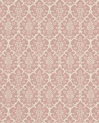 Burley Pink by  Schumacher Wallpaper