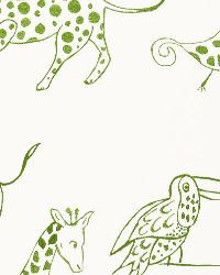 Green Jungle Safari Fabric  Jungle Jubilee Leaf