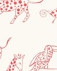 Pink Jungle Safari Fabric  Jungle Jubilee Punch