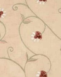 Beige Small Print Floral Fabric  28598 16