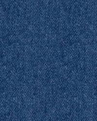 Blue Solid Color Denim Fabric  Rashid 31100 50 Indigo