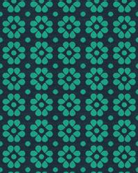 Blue Small Print Floral Fabric  Kahlo 33780 13 Twilight
