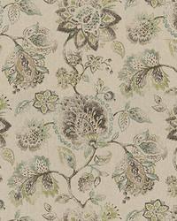 Beige Large Print Floral Fabric  Asti 615