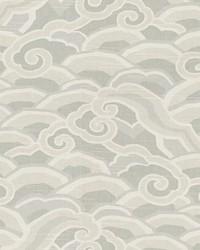 Grey Oriental Fabric  Decowaves Pumice