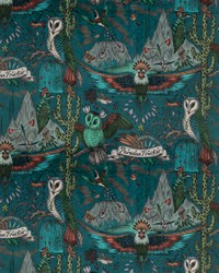 Frontier Velvet F1476/01 CAC Teal by