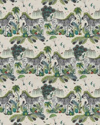 Lost World Linen F1491/01 CAC Green by