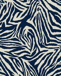 Funky Zebra 5 Indigo by