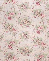 Red Medium Print Floral Fabric  Merrywood LA1034 9 Berry