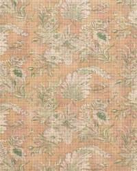Green Medium Print Floral Fabric  Round Hill LA1043 30 Fern